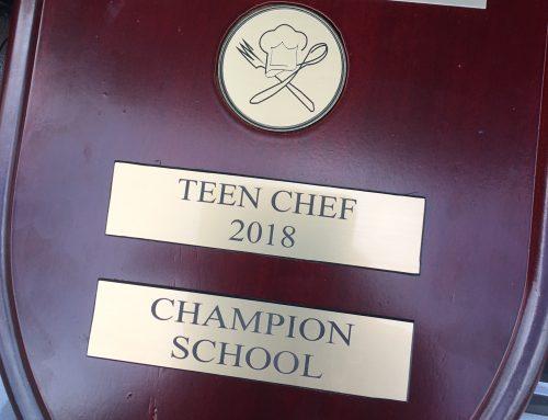 SIS Teen Chef Champions!