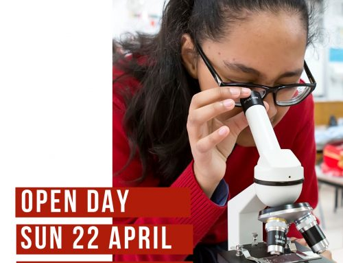 Register Now to attend our Open Day Sunday 22 April