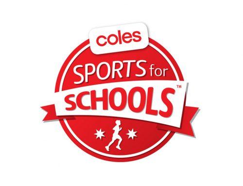 Coles Sports for Schools program